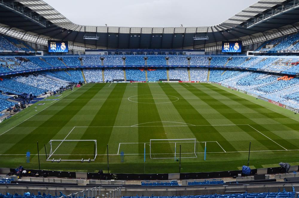 Billede af Manchester Citys hjemmebane, Etihad.