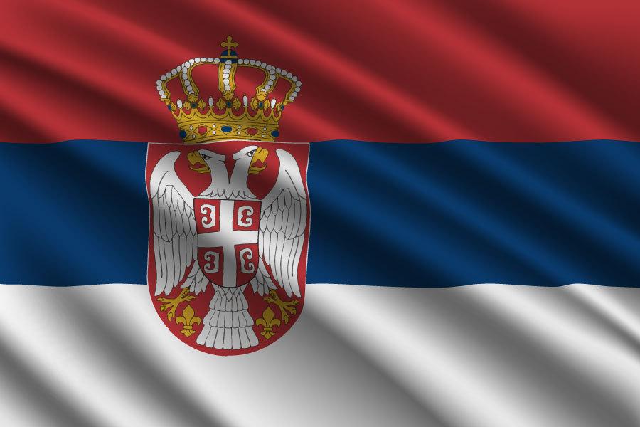 em serbien