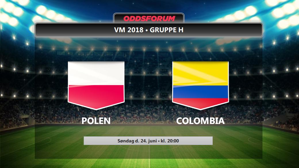 Polen Colombia Odds Se Startopstillinger Og Livestream Pa Vm  Opgoret Her