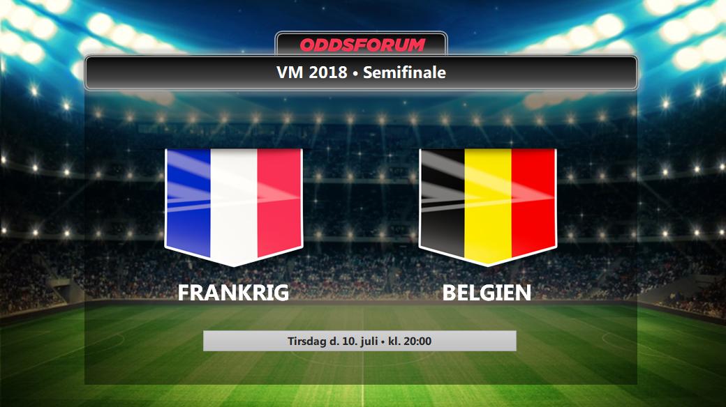 Frankrig Belgien Odds Se Startopstillinger Og Live Stream Vm Semifinalen Pa Nettet