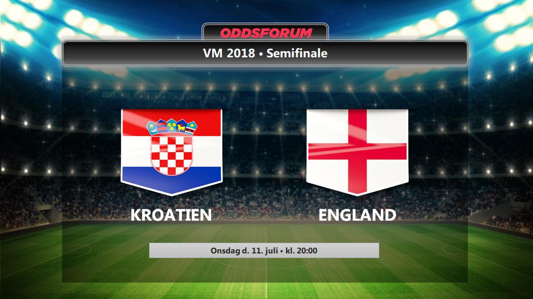 Kroatien England Odds Se Startopstillinger Og Live Stream Vm Semifinalen Gratis Pa Nettet