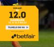 Oddsboost: Få 12.00 på Danmark-sejr mod Wales hos Betfair