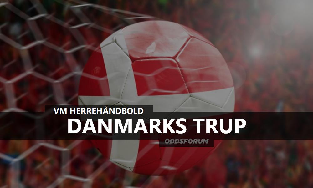 Danmarks trup og spillere ved VM 2019 i Herrehåndbold a480221ca9433
