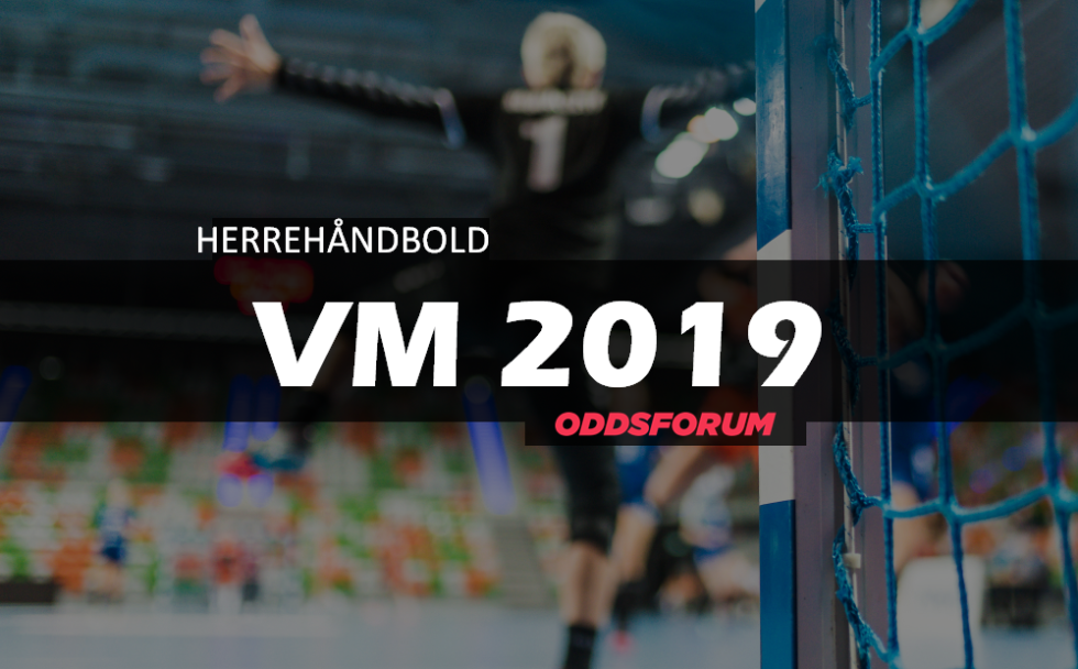 VM i Herrehåndbold 2019 optakt  Se odds på Danmark d6231227a8f36