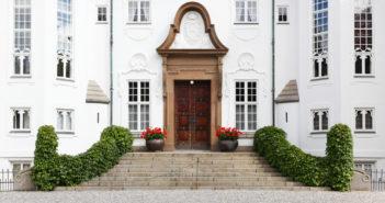 Dronninges slot i Århus. Marselisborg