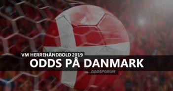Danmark håndbold i mål med odds på vinder af VM 2019