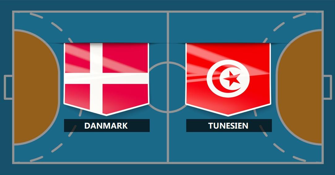 Danmark - Tunesien  febc7803de6f9