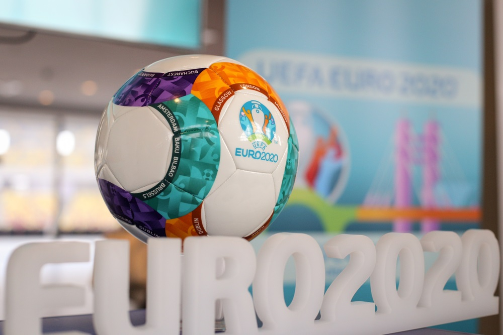 Den officielle kampbold ved EM 2020 (foto: shutterstock.com)